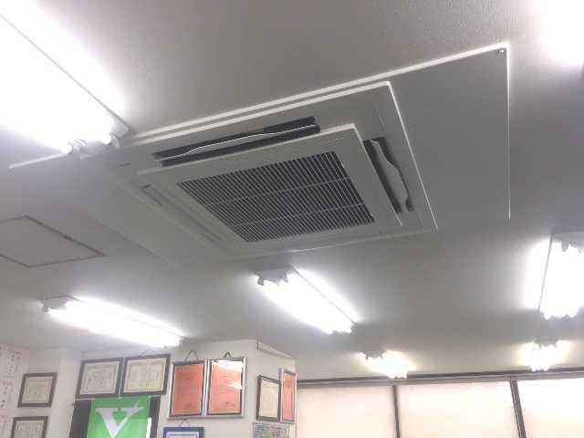 エアコン取付完了