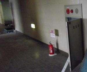 消火栓試験中3